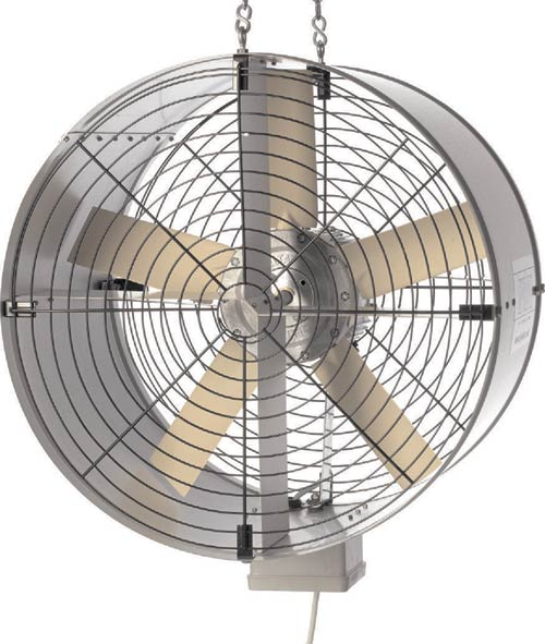Tubulator air circulation fan 450mm hardware for Air circulation fans home