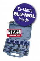 Tradesman's Bi-Metal Hole Saw Kit (7065-S1) - Click for more info
