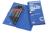 Kincrome Hex Key Ball Point Af 8 Piece