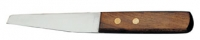 Boot Knife with Wooden Handle
