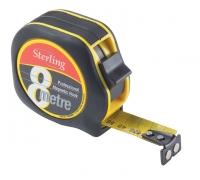 Professional Magnetic Tape Measure. 8mx25mm Metric