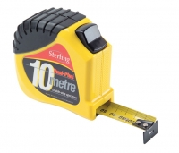 Dual-Plus Double-Stop Tape Measure. 10mx25mm Metric