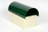Clb-10 Curved Top Green Bge